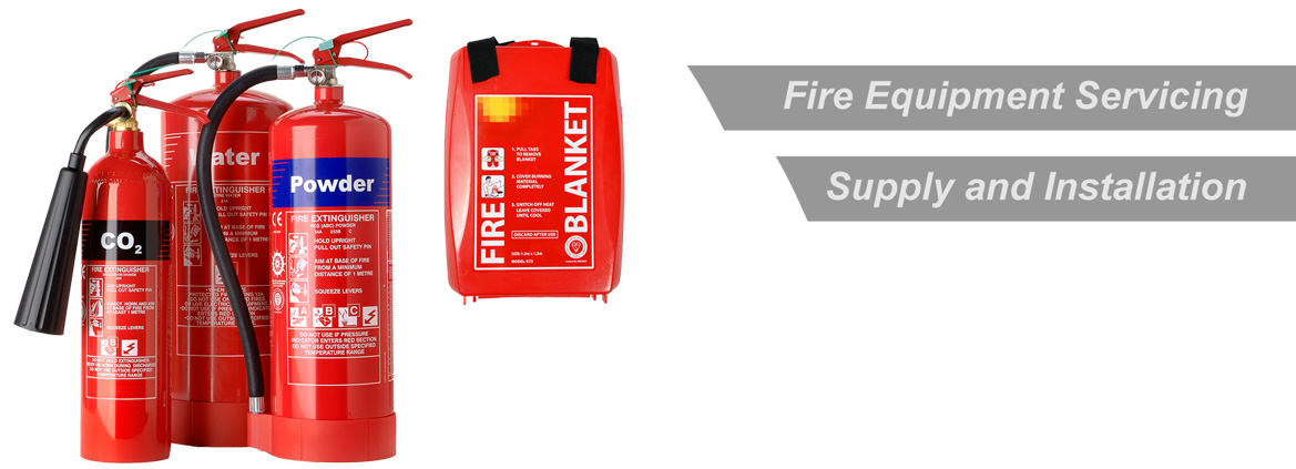 Fire Equipment Servicing, Supply and Installation